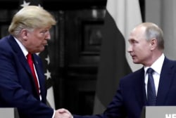 White House defends Trump over phone call with Putin about the 'Russia hoax'