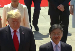 President Trump contradicts Japanese PM on North Korean missile tests