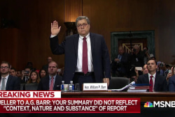 Chris Matthews: Barr acted 'like a defense attorney'