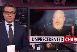 Unprecedented charges against Assange