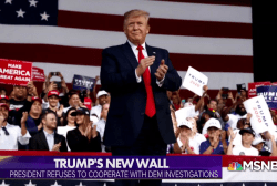 Trump's New Wall: President Rebuffs Democratic Investigations