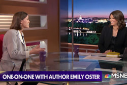 Author Emily Oster applies economic thinking to early parenting