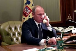 Trump's call with Putin scrutinized for what they didn't discuss
