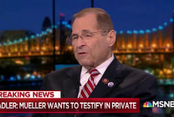 Rep. Nadler: Robert Mueller wants to testify in private