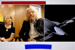 Richard Branson, N. Mexico governor breaking ground for first commercial spaceport