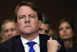 Ex-WH counsel McGahn sides with White House, won't hand over Mueller probe docs
