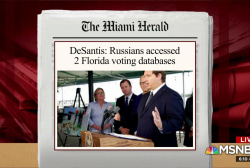 Fla. gov. can't name counties hacked by Russia due to NDA