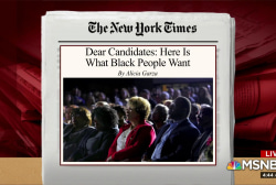 How candidates should approach black voters