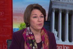 Klobuchar: I want to be a leader that makes people proud