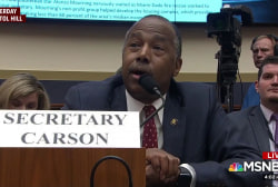 'Funny but also really disturbing': Carson's 'Oreo' mix-up