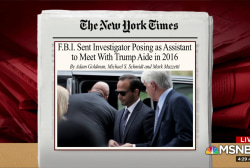 FBI used 'super secret' operation on Trump aide in 2016: NYT