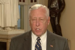 Trump is acting like a man cornered: Rep. Hoyer