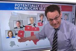 Democrats' chances of retaking the senate in 2020