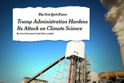 One More Thing: Trump Administration continues its assault on climate science
