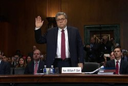 What did William Barr's Senate testimony reveal?