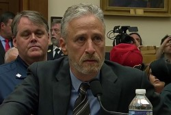 Jon Stewart rips McConnell on 9/11 money: 'your species' is slow