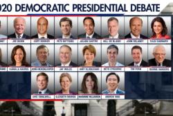 DNC Announces 2020 Debate Lineup