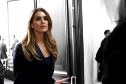 Former Trump WH communications director Hope Hicks testifies to Congress