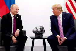 Trump reaches out to Kim Jong Un and jokes with Putin about election meddling