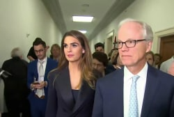 Hope Hicks refused to answer 155 questions during House testimony