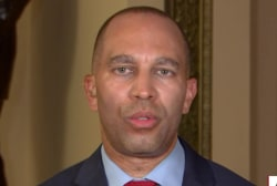 """Rep. Jeffries: Accepting help from a hostile government is """"treasonous behavior"""""""