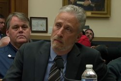 """Jon Stewart to Congress: """"After 18 years, do your job"""""""