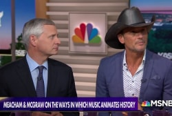 'Songs of America': Tim McGraw & Jon Meacham trace history through music
