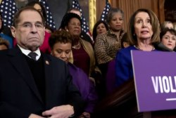 'I want to see him in prison': Pelosi's comment sets off firestorm