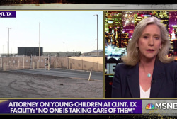 Attorney who went inside Texas center housing migrant children describes neglect