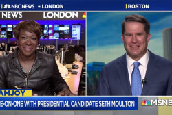 2020 candidate Rep. Seth Moulton calls for 'new generation of ideas'