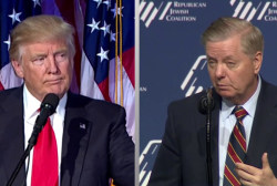 Lindsey Graham, Donald Trump Jr. and the latest accusation against Trump
