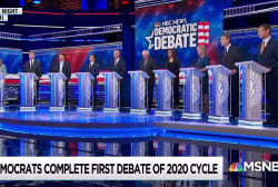 Democratic debate a fundraising springboard for some candidates
