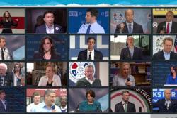 Random groupings add wildcard dynamic to first Democratic debate
