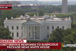 Secret Service responds to suspicious package near White House