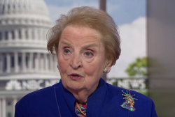 Albright: 'I'm appalled' at smiling Trump telling Putin don't meddle in the election