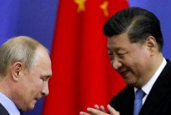 Vladimir Putin, Xi Jinping meet in Moscow