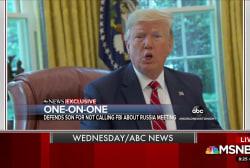 Trump backtracks on foreign dirt remarks