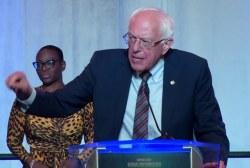 Sen. Sanders gives speech at South Carolina Democratic Convention