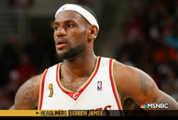 'Headliners: LeBron James' Carrying the Cavs
