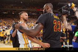 'Headliners: LeBron James' The King vs. the President