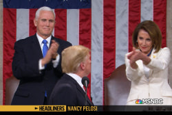 'Headliners: Nancy Pelosi' The President's State of the Union