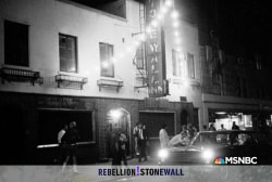 'Rebellion! Stonewall' They Are Gonna Fight Back
