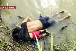 Who were the father & daughter found drowned in the heartbreaking viral photo?