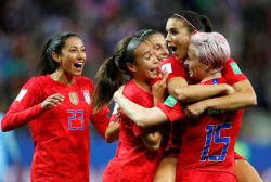 US women's soccer World Cup blowout win fuels  fight for equal pay