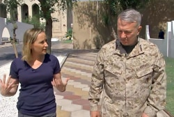 U.S. commander on Iran: 'The threat remains very real'