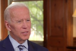 Joe Biden calls Trump's racist remarks 'shameful' and 'incredibly damaging'
