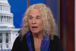 Carole King: Trump's 4th of July rally feeds his ego