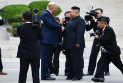 Trump's 'photo-op presidency' goes to North Korea