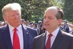 Acosta joins lengthy list of ignominious Trump admin departures