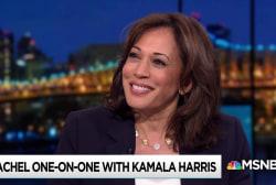 Harris takes post-debate success, attacks in stride